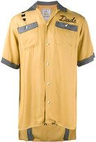 Miharayasuhiro embroidered bowling shirt - men - Rayon - 46