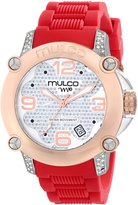 Mulco Women's MW2-28086-161 Analog Display Swiss Quartz Red Watch