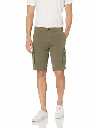 "Goodthreads Men's 11"" Inseam Cargo Stretch Canvas Short"