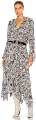 Etoile Isabel Marant Laureli Dress in Chalk | FWRD