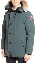 Canada Goose Men's 'Chateau' Slim Fit Genuine Coyote Fur Trim Jacket