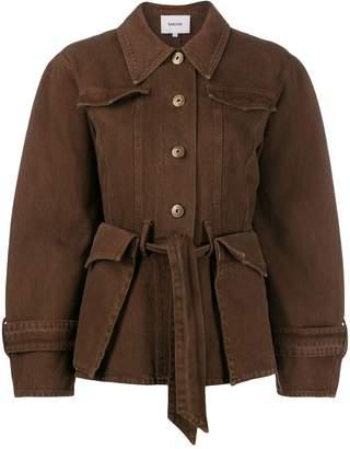 Nanushka Flying Pocket denim jacket