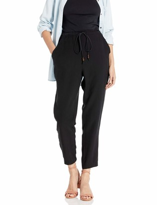 BCBGeneration Women's Front-Tie Shirred Pant