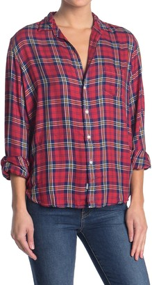 Frank And Eileen Eileen Plaid Relaxed Fit Shirt