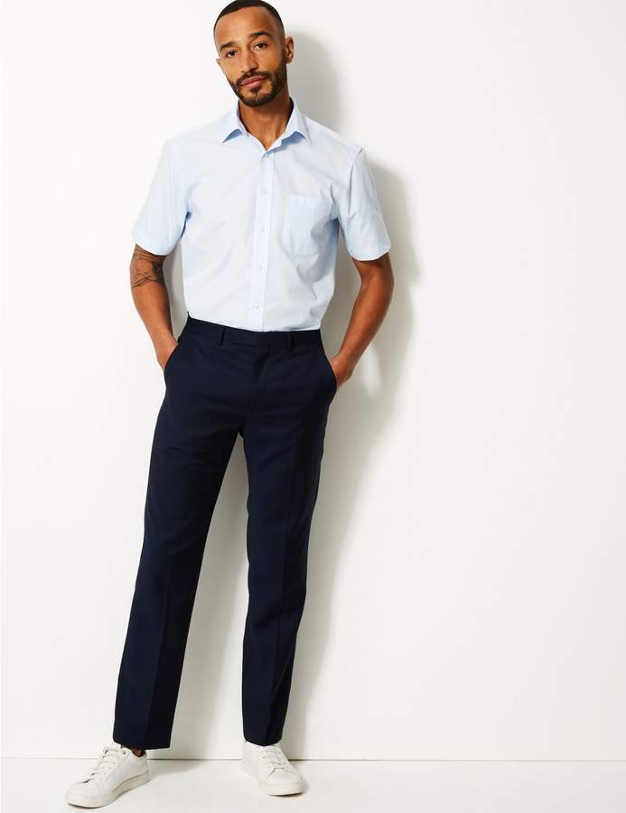 Marks and Spencer 3 Pack Short Sleeve Regular Fit Shirts