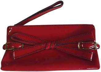 Valentino Red Patent leather Clutch bags