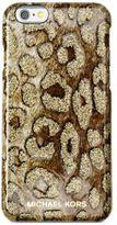 MICHAEL Michael Kors Glitter Cheetah-Print iPhone 6 Cover