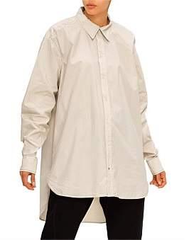 Bassike Wshd Cotton Traditional Shirt