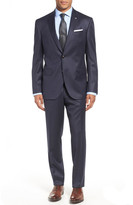 Ted Baker Jay Trim Fit Check Wool Suit