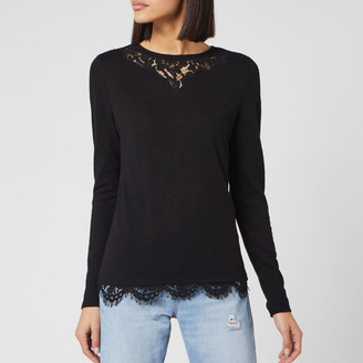 Superdry Women's Ellis Lace Long Sleeve Top