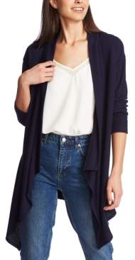 1 STATE 1.State 1.state Drape-Front Cardigan Sweater