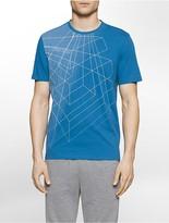 Calvin Klein Performance Grid Wireframe T-Shirt