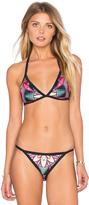 Pilyq Piped Bikini Top