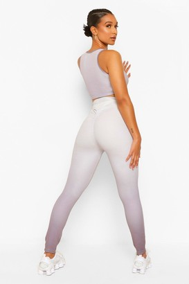 boohoo Fit Ombre Booty Boost Gym Leggings