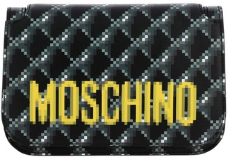 Moschino Mini Bag Bag Capsule Collection Pixel With Shoulder Strap In Leather