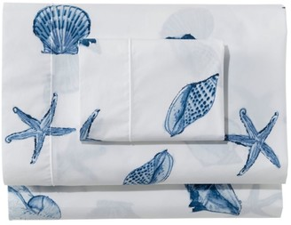 L.L. Bean Seashell Percale Sheet Collection