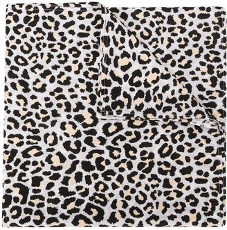 Zadig & Voltaire Leopard Print Scarf