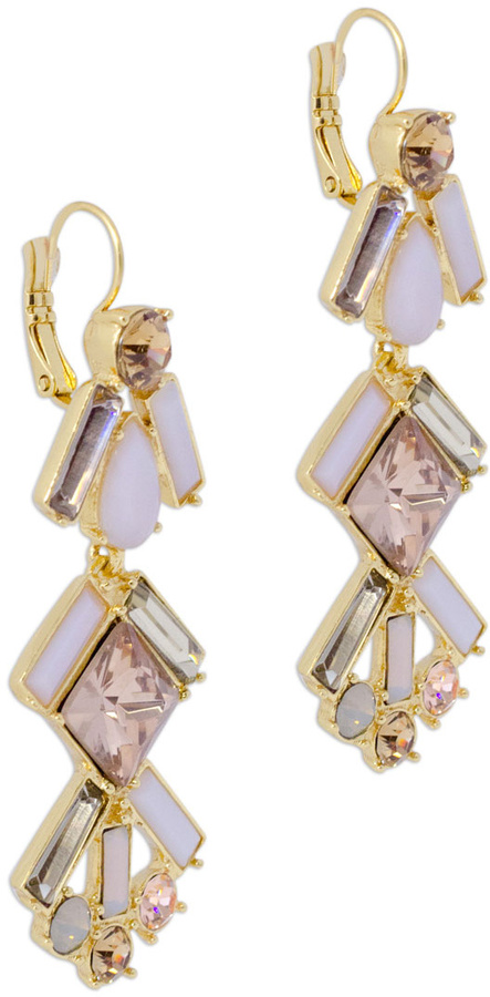 Kate Spade accessories Baguette Bridal Chandelier Earrings