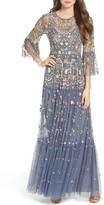 Needle & Thread Women's Dragonfly Garden Beaded Tulle Gown