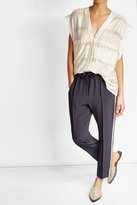 Brunello Cucinelli Track Pants with Embellishment