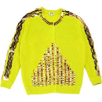 Kenzo Green Wool Knitwear