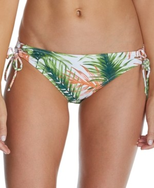Raisins Juniors' Palma Printed Sweet Side-Tie Hipster Bikini Bottoms Women's Swimsuit