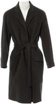 Hotel Particulier Grey Wool Coat for Women
