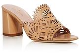 Kate Spade Delgado Cutout Slide High Heel Sandals