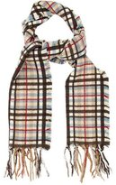 Burberry Multicolor Check Scarf