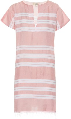 Lemlem Doro cotton-blend tunic dress