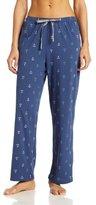 Nautica Sleepwear Women's Knit Mini Anchor Pant