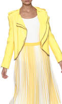 Lily White Yellow Jacket