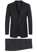 Armani Collezioni G-line Navy Wool Suit