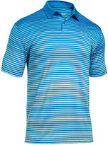 Under Armour Men's Trajectory Striped CoolSwitch Polo