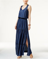 INC International Concepts Lattice-Back Maxi Dress, Only at Macy's