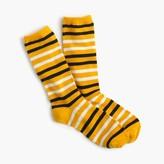 J.Crew Contrast striped trouser socks