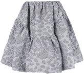 Jourden - full mini skirt - women - Cotton/Acrylic/Polyamide/Polyester - 34