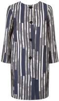 Peserico Jacquard Longline Coat