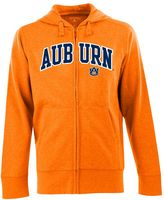 Antigua Men's Auburn Tigers Signature Zip Front Fleece Hoodie