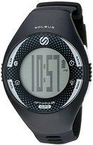 Soleus 'Soleus GPS Pulse BLE' Quartz Black Fitness Watch (Model: SG013-004)