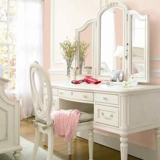 Greyleigh Perryville Vanity Desk with Hutch Greyleigh