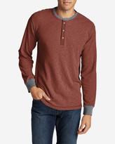 Eddie Bauer Men's Wapato Long-Sleeve Henley Shirt
