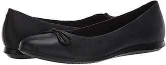 Ecco Touch Ballerina 2.0 (Black Sheep Leather) Women's Shoes