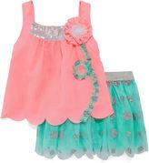 Little Lass 2-pc. Tank Top and Skirt Set - Baby Girls 3m-24m