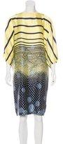 McQ by Alexander McQueen Silk Printed Dress