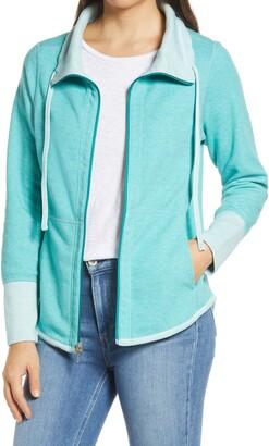 Tommy Bahama Sun Fade Flipside Reversible Full Zip Jacket