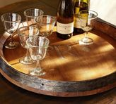 Pottery Barn Barrel Top Lazy Susan