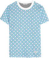 Miu Miu Printed Jersey T-shirt - Blue