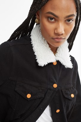 La Detresse 100% Polyester/Cotton x Bandier Fur Jacket in