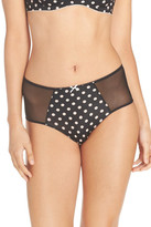 Betsey Johnson Cutie Booty High Waist Brief